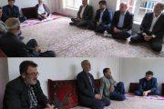 دیدار فرماندار و امام جمعە مهاباد با خانوادە صادق برمکی