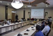 تصویر برگزاری مراسم روز خبرنگار  درمهاباد