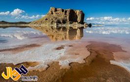 نود درصد دریاچه ارومیه خشک شده است
