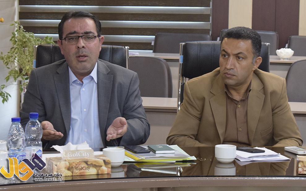 دکتر علیزاده آذر شهردار مهاباد