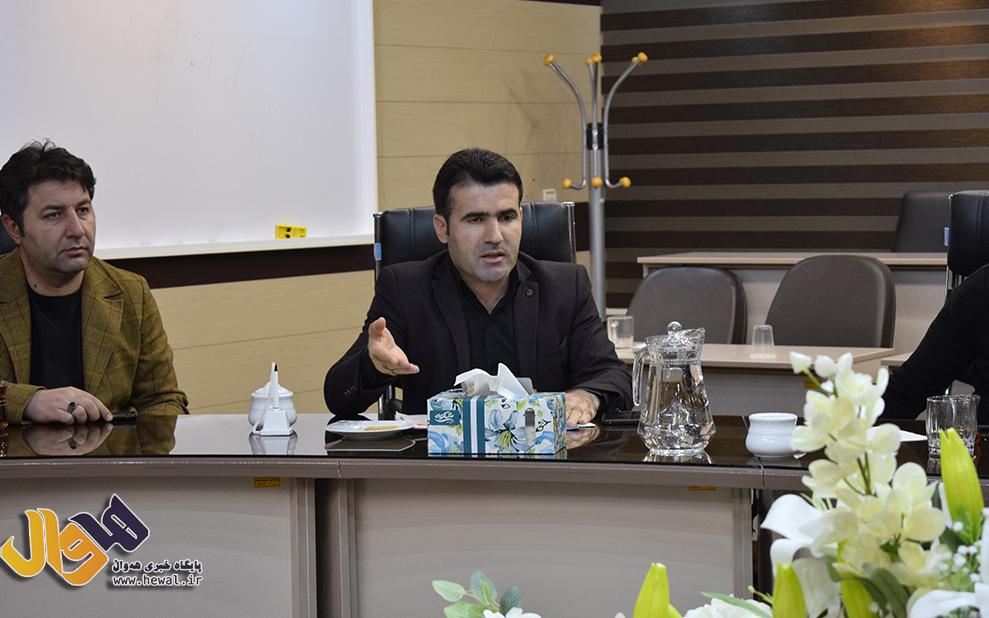 مرزنگ مسئول کارگزینی شهرداری مهاباد
