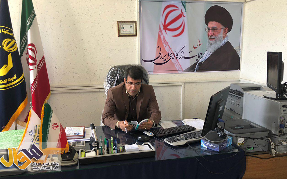 حسین خضری رئیس کمیته امداد مهاباد