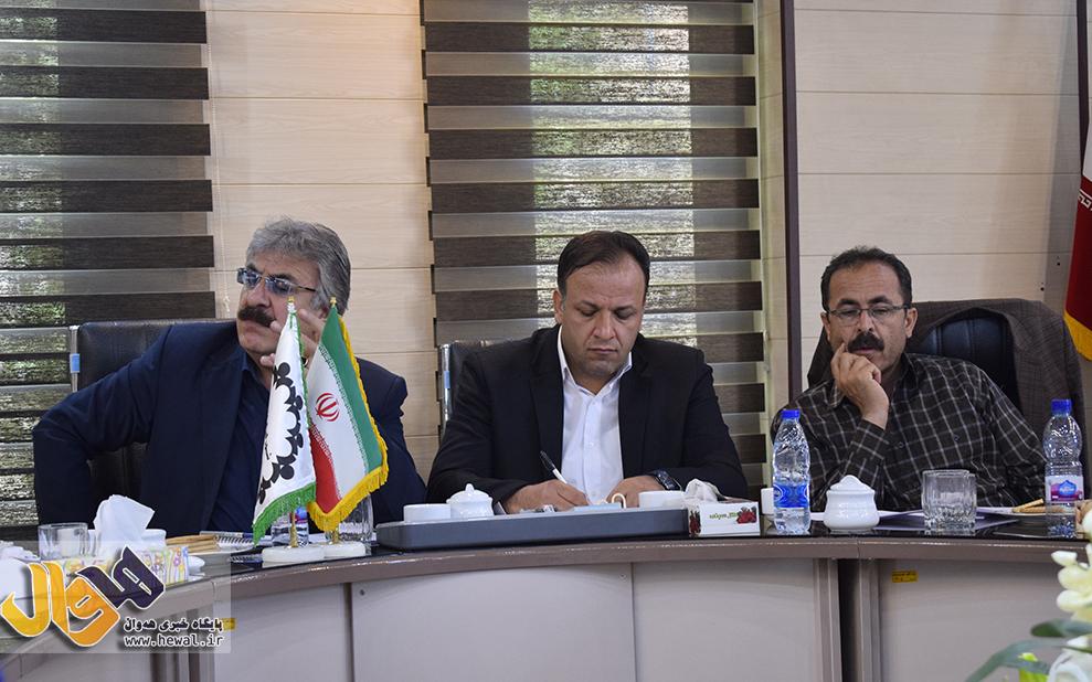 حامد حیدری رئیس شورای اسلامی شهر مهاباد