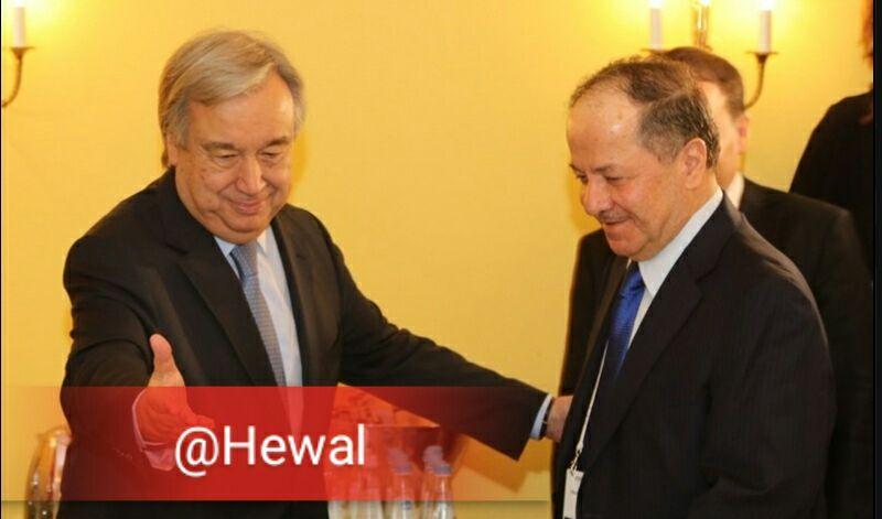 دبیر کل سازمان ملل از اقلیم کوردستان دیدار خواهد کرد