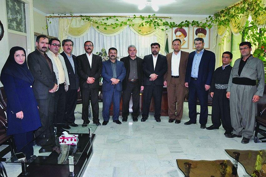 پیام تبریک اعضای شورای اسلامی شهر و شهرداری مهاباد به مناسبت سال ۱۳۹۶ هجری شمسی