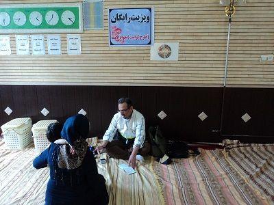 اجرای طرح ویزیت رایگان در مناطق کم برخوردار مهاباد