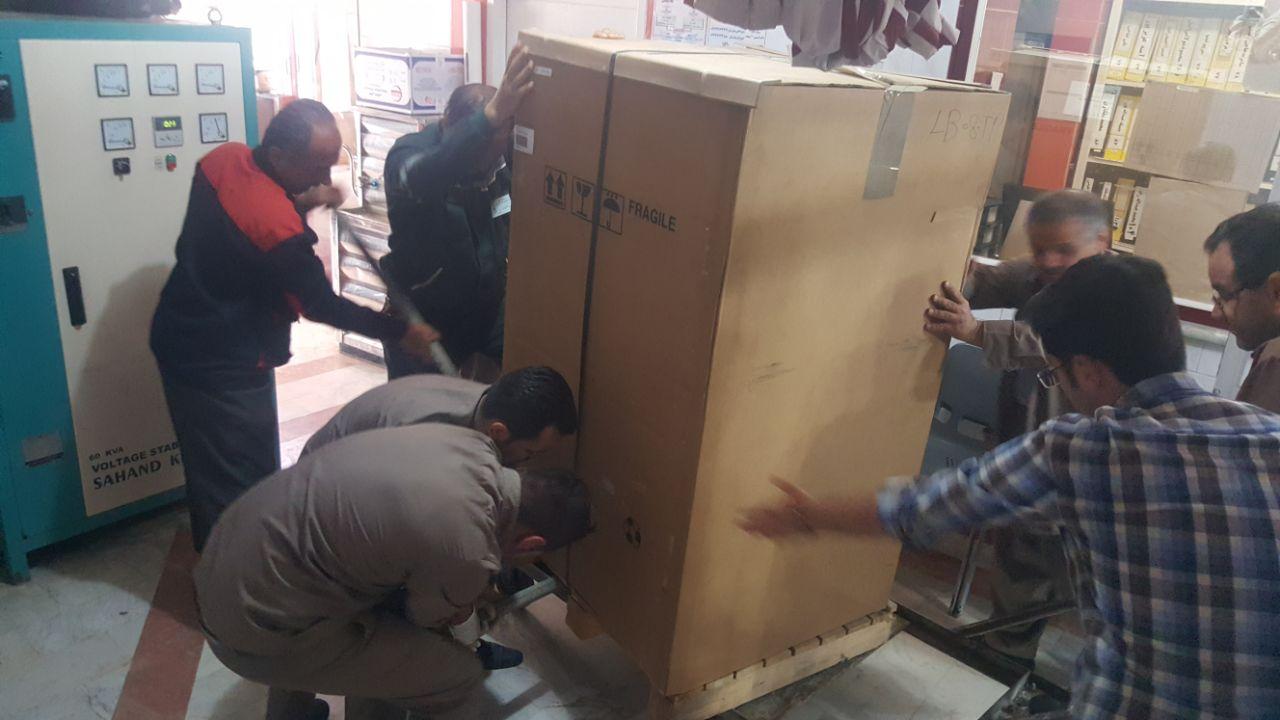 اهداء ۶۰۰ میلیون ریال به بخش دیالیز بیمارستان امام خمینی(ره) مهاباد