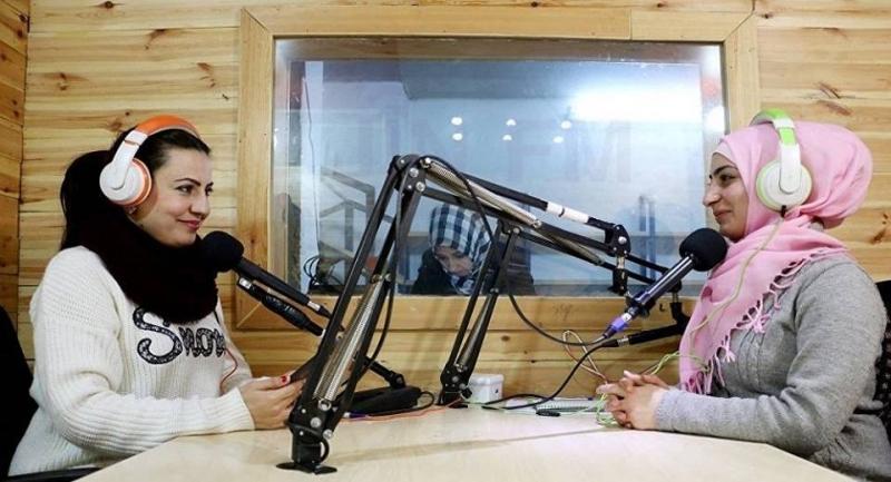 افتتاح رادیوی مخصوص زنان در یکی از شهرهای کُردنشین سوریه