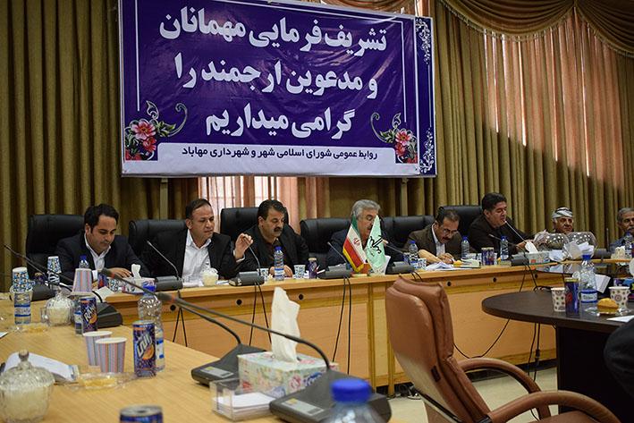 جلسه علنی شورای اسلامی دور پنجم مهاباد با محوریت انتخاب شهردار برگزار گردید.
