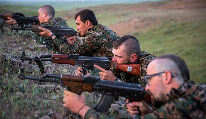 نیروهای YPG
