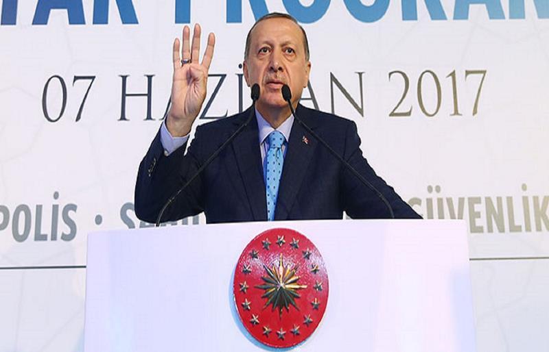 رجب طیب اردوغان خطاب به پ.ک.ک:یا مذاکره می کنید یا تاوان پس خواهید داد