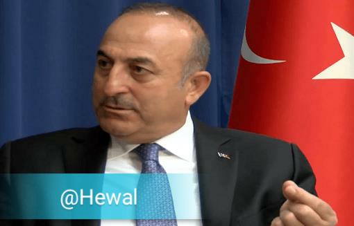 وزیر خارجه ترکیه: ایجاد کشور کردی تحمل ناپذیر است