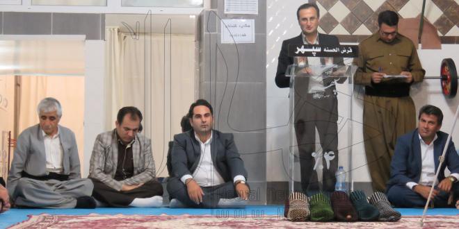 به همت صندوق سپهر ایرانیان، اولین سالن اختصاصی بازی بومی محلی جورابین در مهاباد افتتاح شد