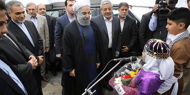 تحلیلی کوتاه بر سفر ریاست محترم جمهوری جناب آقای دکتر روحانی به مهاباد از زاویه ی دیگر