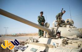ویدیو / گزارش میدانی از آخرین وضعیت آرایش نیروهای عراقی و پیشمرگه ها در کرکوک