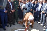 در سومین روز هفته دولت:  کلنگ زنی مدرسه ۱۰ کلاسه خیر سازدرشهر گوک تپه مهاباد + تصاویر