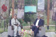 حضور استاندار آذربایجان غربی در برنامه زنده کازیوه صداوسیمای مهاباد