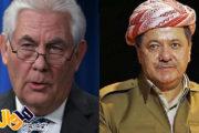 جزئیات تماس تلفنی وزیر امور خارجە آمریکا با بارزانی