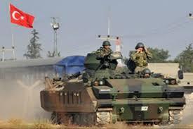 ارتش ترکیه وارد خاک شهر کردنشین کوبانی در شمال سوریە شد