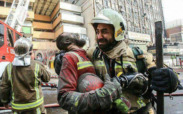 پیام شورای اسلامی شهر وشهرداری مهاباد به مناسبت جان باختن جمعی از آتش نشانان فداکار حادثه دردناک ساختمان پلاسکو