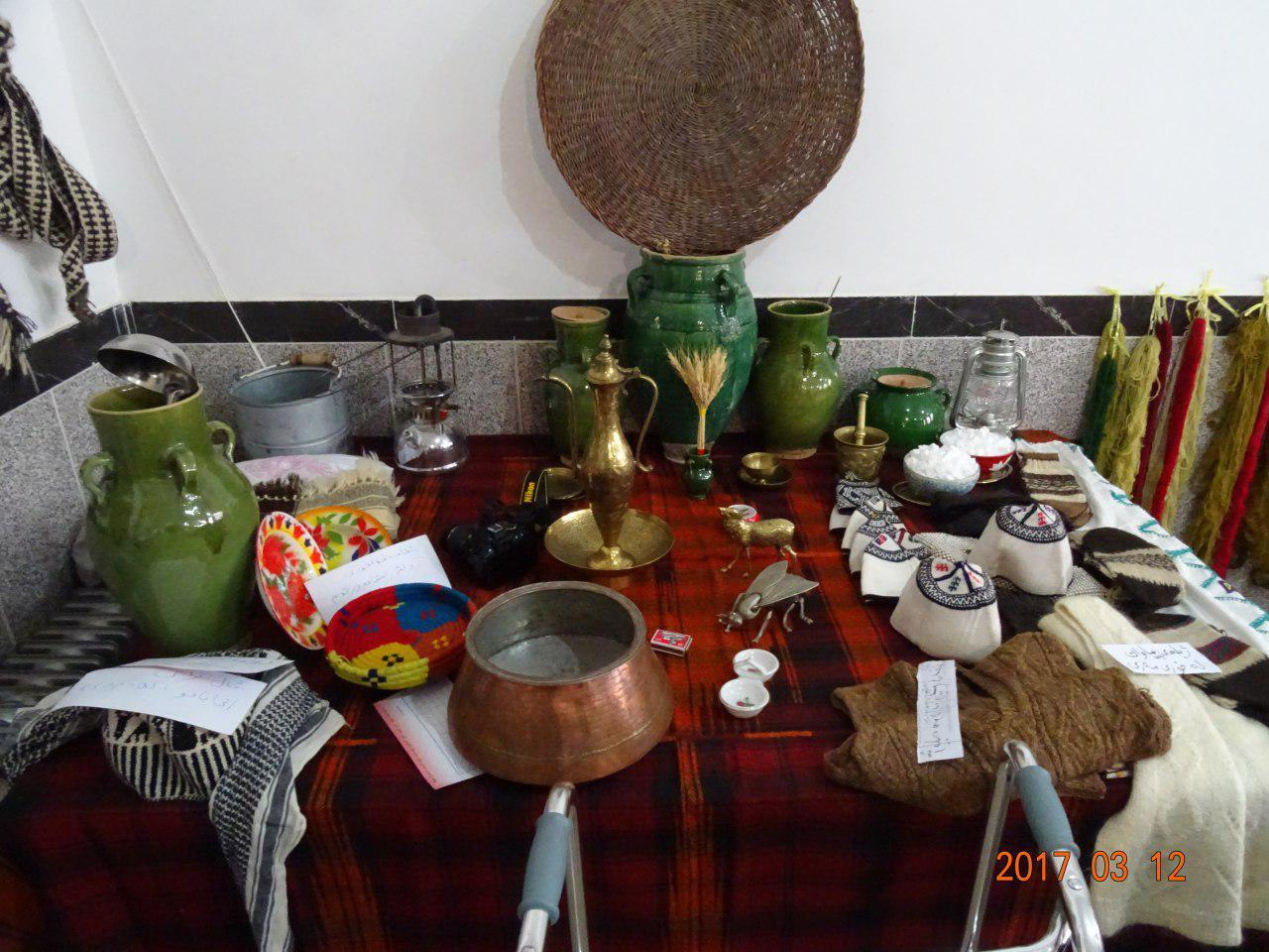 برگزاری نمایشگاه آداب و رسوم کوردی در مهاباد + تصاویر