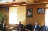 دیدار مدیر کل زندانهای استان آذربایجان غربی با معاون استاندار و فرماندار ویژه شهرستان مهاباد
