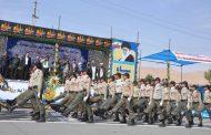 گزارش تصویری از مراسم رژه نیروهای مسلح شهرستان مهاباد به مناسبت هفته دفاع مقدس