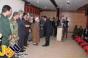 مراسم معارفه دکتر کامران علیزاده آذر شهردار جدید مهاباد برگزار گردید
