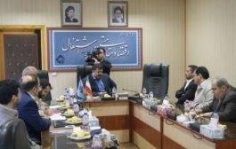 دیدار مدیر عامل منطقه آزاد تجاری ماکو با مدیر کل صدا و سیمای مرکز مهاباد