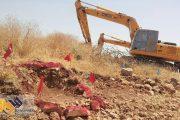 جوابیه اداره میراث فرهنگی مهاباد در خصوص خبر حفاری تپه باستانی روستای درمان
