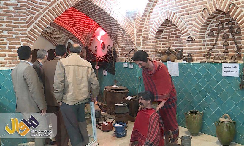 ١١٨٧ اثر تاریخی در موزه مردم شناسی مهاباد نگهداری می شود